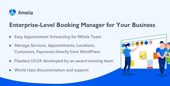 amelia appoinment wordpress booking plugin