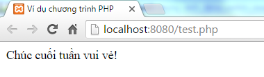 Lệnh elseif trong PHP