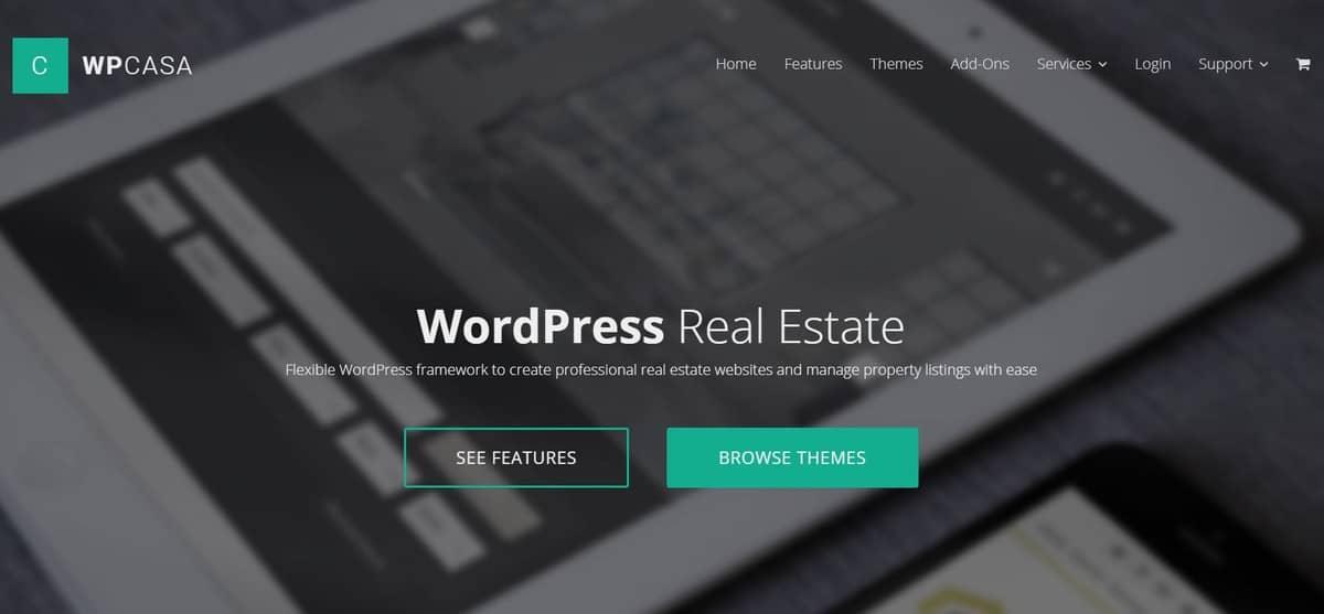 wpcasa WordPress real estate plugin