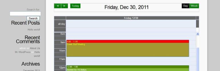 appoinment calendar wordpress booking plugin