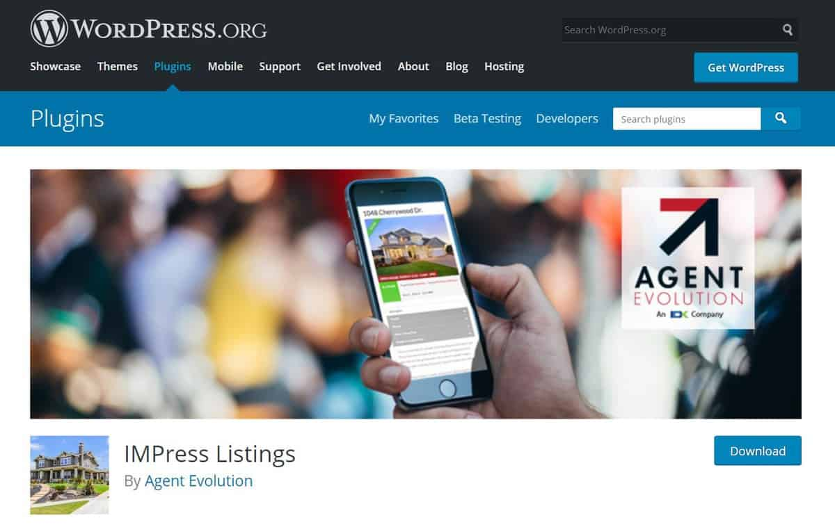 Impress Listings plugin real estate