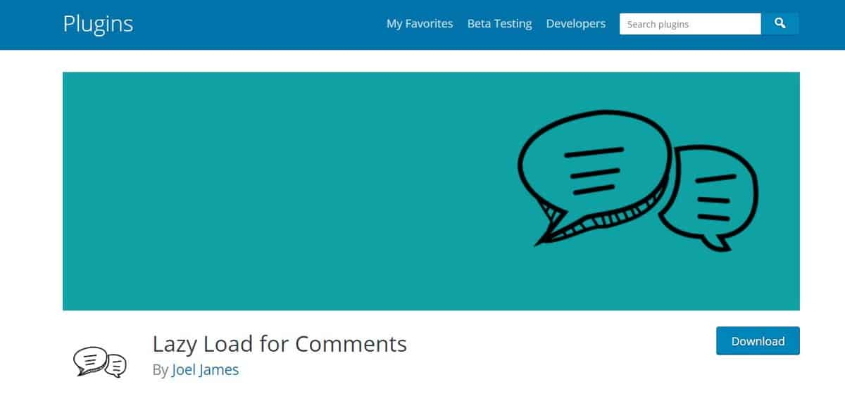lazy load comment là plugin WordPress comment tốt