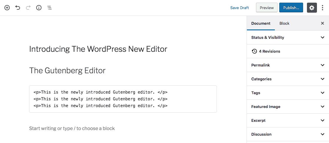 sử dụng paragraph tag trong text editor