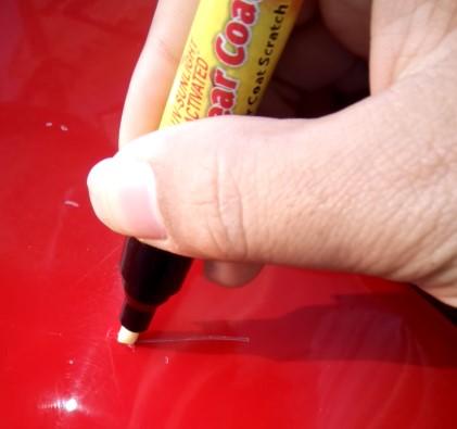 cách xóa vết xước sơn xe ô tô