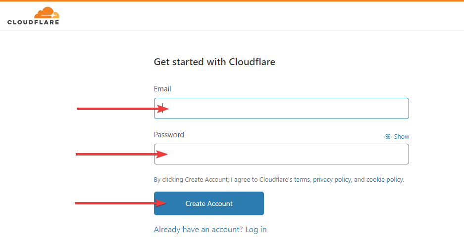 Hướng dẫn cách cấu hình kết nối tên miền với CloudFlare