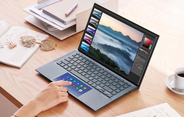ASUS ZenBook 14 UX435: Nâng cao khả năng đa nhiệm với màn hình phụ giống smartphone cùng diện mạo gọn nhẹ - Ảnh 1.