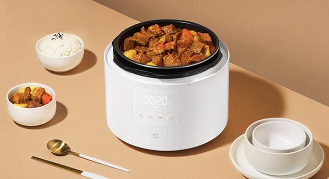 Xiaomi ra mắt nồi áp suất điện thông minh: Dung tích 5L, nấu ăn siêu nhanh, giá 1.4 triệu đồng - Ảnh 2.